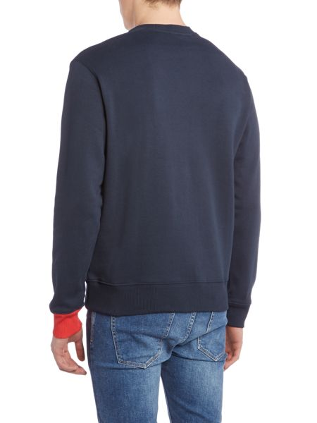 Perry Ellis America Long Sleeve Crew Neck Sweatshirt