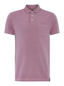 Criminal Jones Stripe Polo Top