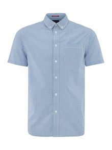 Criminal Penfold Mini Gingham Short Sleeve Shirt