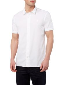 Perry Ellis America Northern Soul Button Through Short Sleeve Shirt