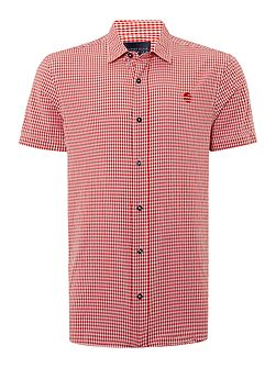 Northern Soul Gingham Short Sleeve Shirt