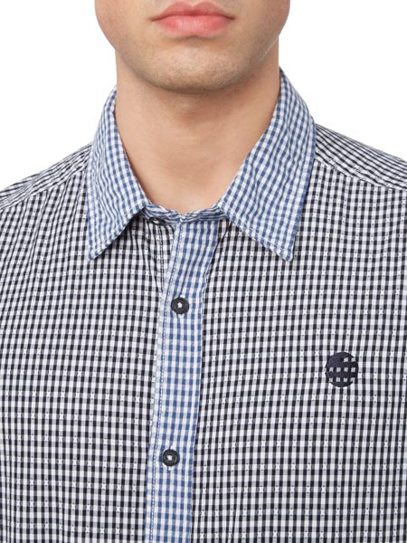 Perry Ellis America Archive Long Sleeve Gingham Shirt