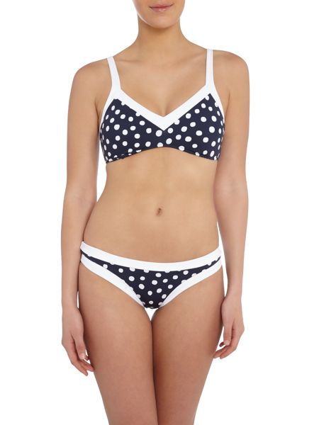 Seafolly Spot on bralette top