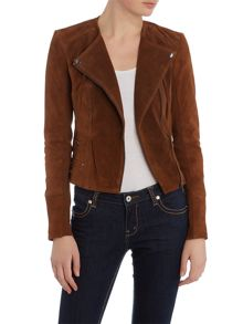 Vero Moda Long Sleeve Suede Jacket