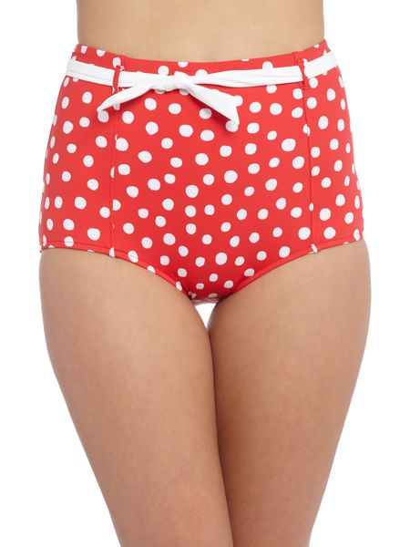 Seafolly Spot on high waisted pant