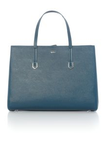 Hugo Boss Norah blue tote bag