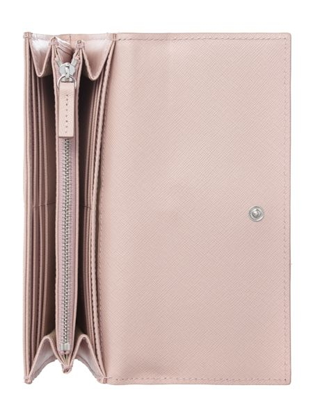 Hugo Boss Narigh light pink flapover purse