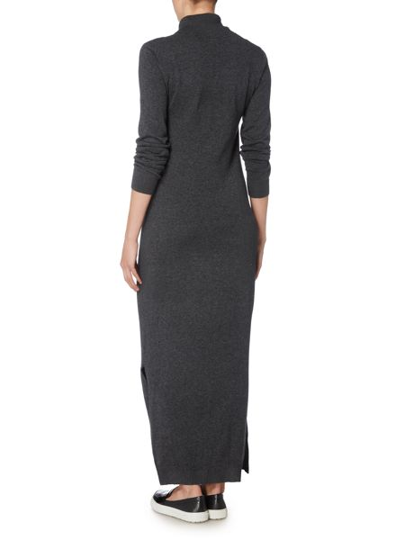 Therapy Knit Roll Neck Maxi Dress