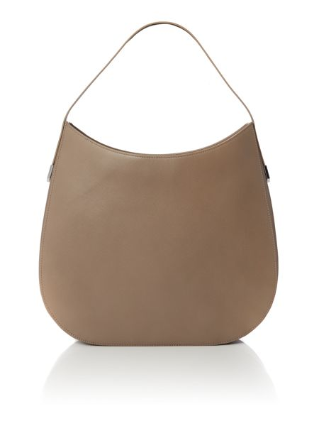 Hugo Boss Noble taupe hobo bag