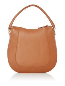 Hugo Boss Gretal tan hobo bag