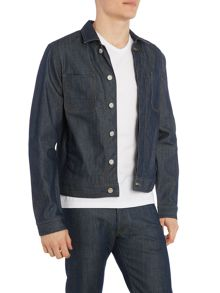 Perry Ellis America Button Through Trucker Jacket