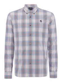 Perry Ellis America Jackson Check Woven Long Sleeve Shirt