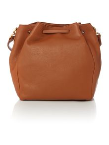 Hugo Boss Gaby tan duffle bag