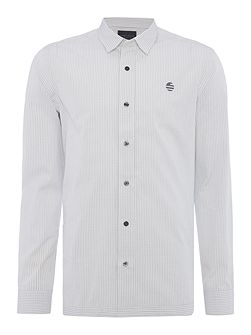 Woven Check Long Sleeve Shirt