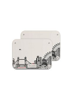 Charlene Mullen Architect toaster panel set