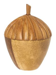 Linea Acorn Ornament
