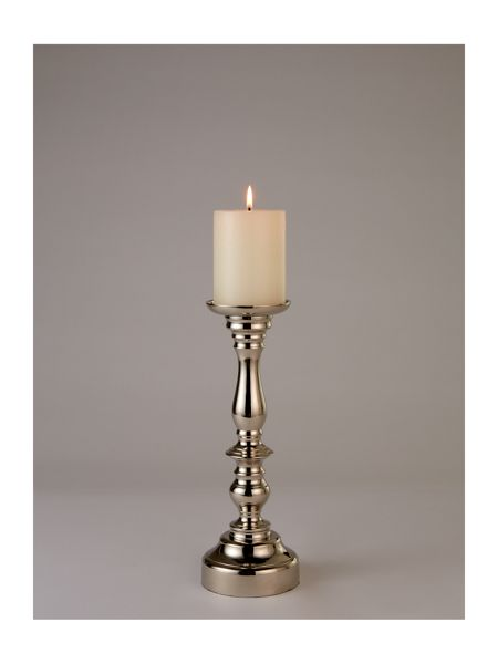 Linea Pillar candle holder small