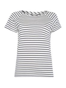 Vero Moda Short Sleeve Striped Top