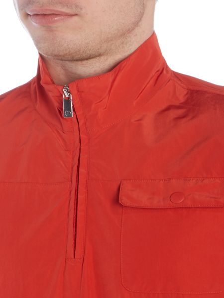 Perry Ellis America Zip Through Neck Light Weight Jacket