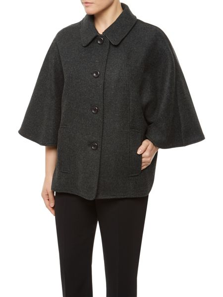 Eastex Grey Melange Cape