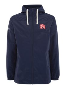 Front Up Rugby Long Windbreaker Jacket