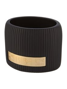 Biba Boudoir black and gold tumbler