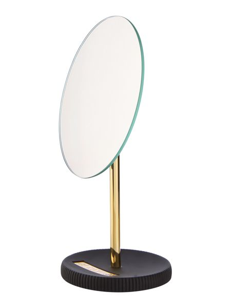 Biba Boudoir black and gold mirror