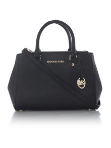 Michael Kors Sutton black small tote bag