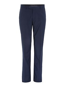 Dalton micro check suit trousers