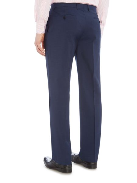 Howick Tailored Dalton micro check suit trousers