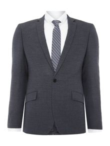 Kenneth Cole Jonathon SB1 textured notch lapel suit jacket