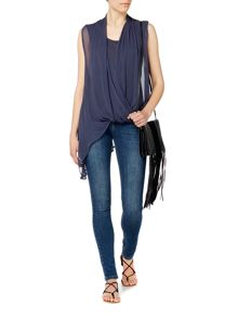 Label Lab Asymmetric sleeveless top