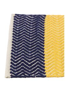 Linea Bright chevron bath mat