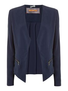 Hugo Boss Ocuty relaxed jacket with zip detail