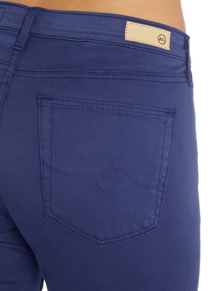 AG Jeans The Sateen Prima in Colonial Blue