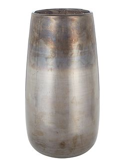 Moon pearlised tall vase