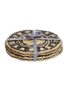 Linea Seagrass Coaster Set Of 4