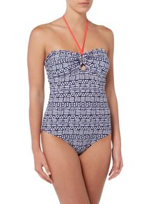 Dickins & Jones Tribal Print Swimsuit