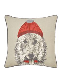 Linea Bailey the dog cushion