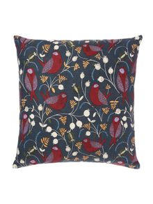 Linea Folk bird cushion