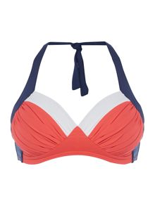Dickins & Jones Colour Block Bikini Top
