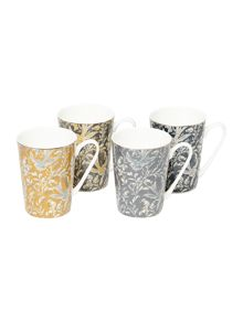 Living by Christiane Lemieux Florence Mugs Set Of 4