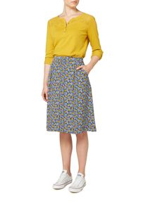 Dickins & Jones Spot Printed Alice A-line Skirt