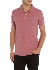 Lindbergh Embroidered short sleeve polo