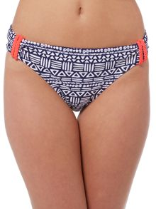 Dickins & Jones Tribal Print Bikini Bottom