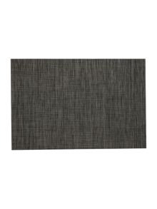 Linea Vinyl Placemat Dark Grey Set Of 4