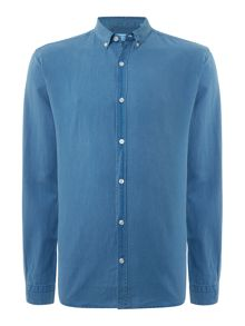 Lindbergh Long sleeve linen shirt