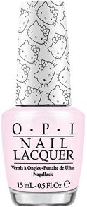OPI Hello Kitty `Let`s Be Friends` Nail Lacquer