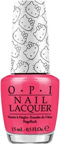 Hello Kitty `Spoken From The Heart` Nail Lacquer