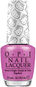 OPI Hello Kitty `Super Cute in Pink` Nail Lacquer